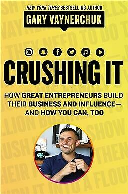 AU29.89 • Buy Crushing It! : How Great Entrepreneurs Build Their Business And Influence-and...