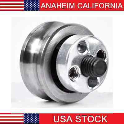 $21.85 • Buy U Groove Ball Bearing + Fixing Screw Double Row Pulley SG15 + Eccentric 5-KIT