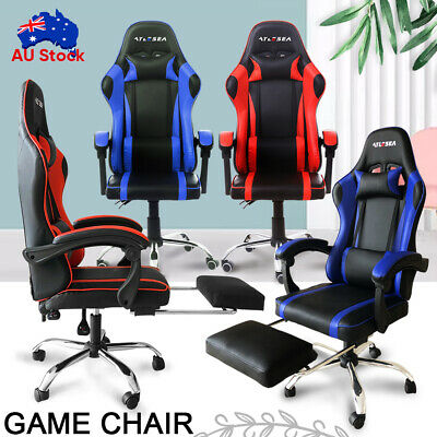 AU126.29 • Buy Gaming Chair Office Chair Ergonomic Computer Mesh Chairs Executive Black New