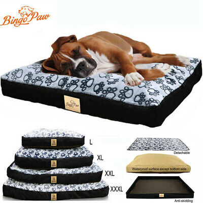 XXXL XXL XL Jumbo Waterproof Pet Bed For Large Dog Orthopedic Mattress Cushion  • 38.93£
