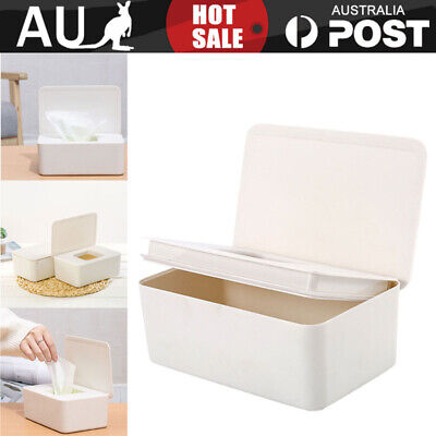 AU19.99 • Buy Dry Wet Tissue Paper Case Baby Wipes Napkin Storage Box Holder Container AU