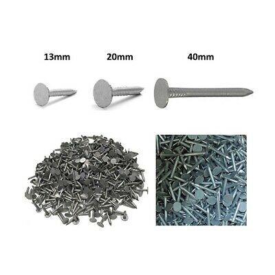 Galvanised Roofing Felt Clout Nails 3 Sizes Various Quantities Sheds Playhouses • 1.89£