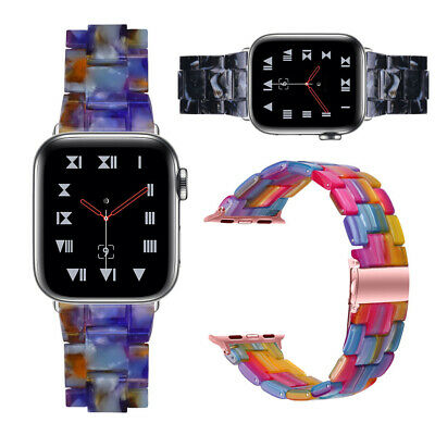$ CDN17.61 • Buy Transparent Resin Band IWatch Strap Bracelet For Apple Watch Series 6/5/4/3/2 SE