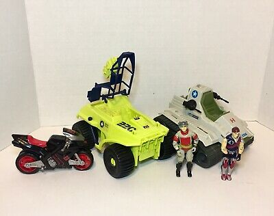 $ CDN50 • Buy GI Joe Lot 2 Action Figures Vintage & 3 Vehicules Like New Not Complete