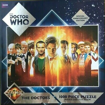Doctor Who The Doctors 300 Piece Jigsaw Puzzle Special 50th Anniversary Edition • 6.99£