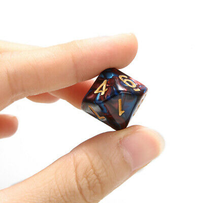 AU5.99 • Buy 10PCS 10 Sided Dice D10 Set Polyhedral Die For Dungeons And Dragons Table Game