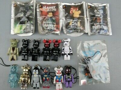 $79.99 • Buy Lot Of 17 MEDICOMTOY BE@RBRICK Keychain STARWARS Superman Tron 24 Superman