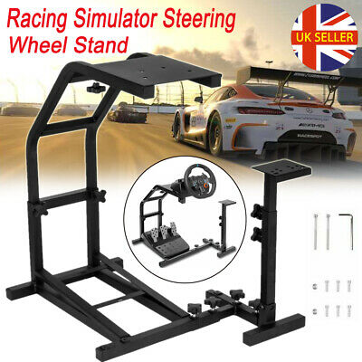 Racing Simulator Steering Wheel Stand For G27 G29 G920 T300RS T80 XBOX ONE PS4 • 39.98£