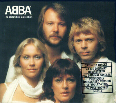ABBA - The Definitive Collection (2xCD, Comp, RM, Sli) • 11.99£