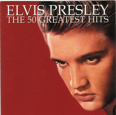 Elvis Presley - The 50 Greatest Hits (2xCD, Comp) • 11.99£