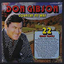 £12.99 • Buy Don Gibson - Country My Way (LP, Comp)