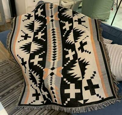 New Native Indian Navajo Sofa Rug Cotton Throw Blanket Bedcover Wall Tapestry • 27.99£