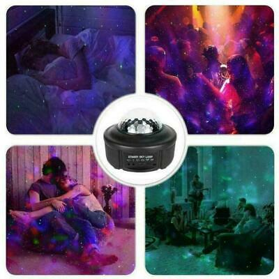 Bluetooth Music Projector Night Light LED Stage Starry For Party Lamp Sky V8W0 • 21.43£