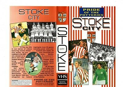 Stoke City Pride Of The Potteries Dvd • 10£