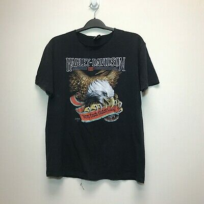 $ CDN120 • Buy Vtg 3D Emblem Harley Davidson Motorcycles Sink Your Claws Tshirt Sz. XL