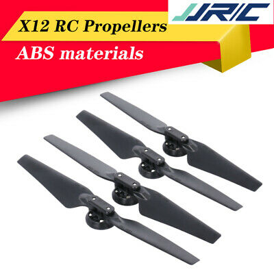 AU17.26 • Buy JJRC X12 WIFI FPV Racing RC Drone Quadcopter Parts CW & CCW Foldable Propellers