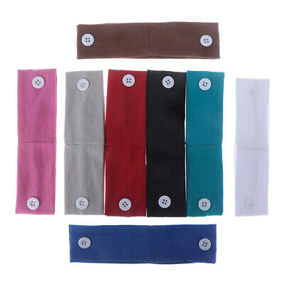 Children Headband With Button Fitness Yoga Hair Band For Protective Safetj$ • 1.99£