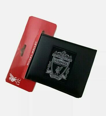 Liverpool Official Crest Wallet With Multiple Card Slots - Black  • 12.99£