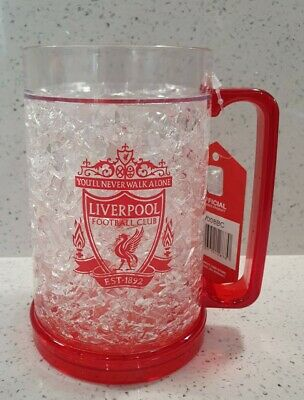 £13.49 • Buy Liverpool FC Official Freezer Tankard - Plastic Pint Glass For Cold Beer - 450ml