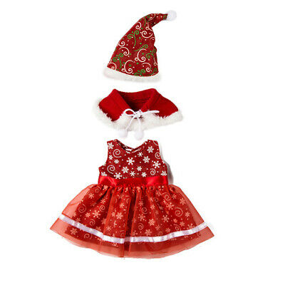 Set Of Doll Christmas Clothes Set Fits 18 Inch AG American Doll Dolls Dress Up • 4.99£