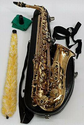 £1599 • Buy Yanagisawa A-500 Saxophone Alto In Gold Finish & Berkeley Case - Complete Outfit
