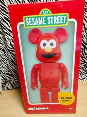 $2116.94 • Buy Bearbrick 1000 Sesame Street Elmo Build--Order Manufacturing Super Rare Goods