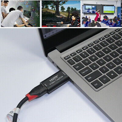 Portable USB 3.0 HDMI Capture Card Game DVD Camcorder Live Video Recording Box • 9.48£