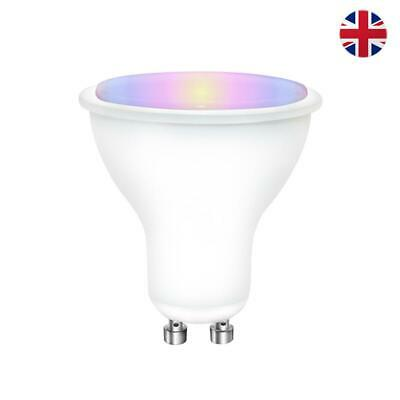 GU10 5W RGB Smart Bulb 16 Colour LED Changing Light Lamp IR Remote Spot Control • 5.99£