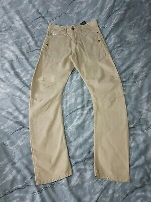 Mens Crosshatch Trousers 30L Beige VGC MORE LISTED Free P&P (44) • 8£