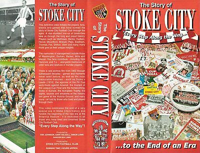 Stoke City The Story Of Dvd • 10£