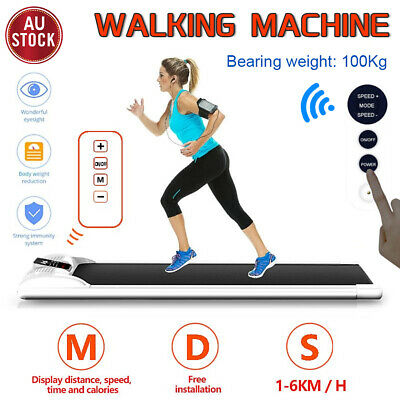 AU357 • Buy Electric Walking Pad LCD Display Treadmill Home Office Exercise Machine Fitness