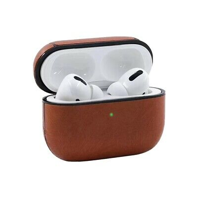 AU8.80 • Buy Faux Leather Airpods Case Protective Skin Cover Fits Apple AirPod Pro 1 2
