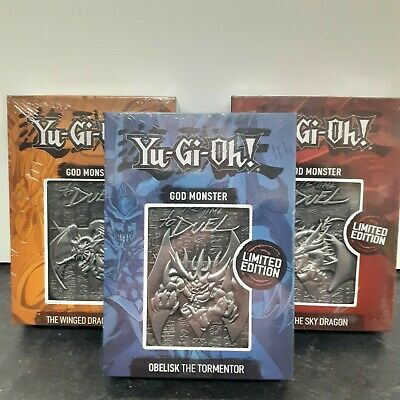AU82.55 • Buy Yu-Gi-Oh Full Set Of 3 Silver God Cards Collectable Limited Edition