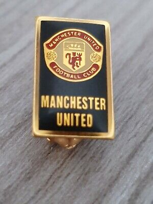 Official MUFC 1990s Manchester United Badge Man Utd Pin Badge A81 • 7.95£