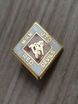 MUFC 1990s Manchester United Badge Man Utd Pin Badge A101 • 7.95£