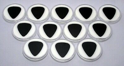 $ CDN27.82 • Buy Lot Of 12 Guitar Pick Display Cases (351 Style-White) 100% MADE IN USA