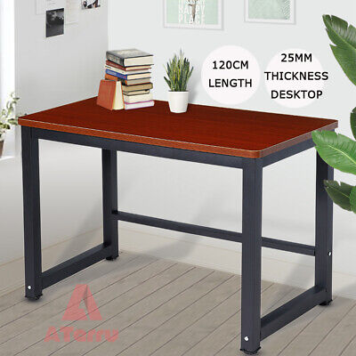 AU69.90 • Buy Home Office Desks Computer Desk Table Student Study Workstation Metal 120x60cm