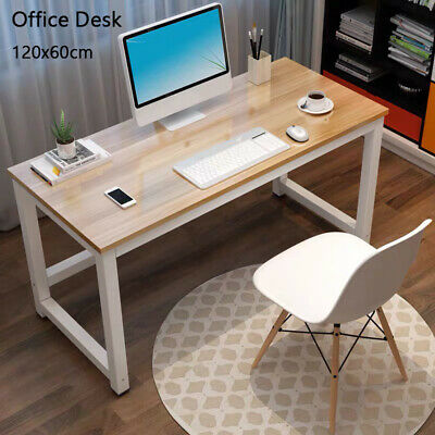 AU73.90 • Buy Office Desks Computer Desk Table Home Student Study Metal Laptop 90cm/120cmx60cm