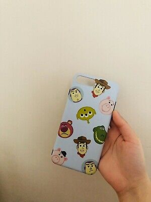 AU7 • Buy Apple IPhone 8 Plus Silicone Toy Story Case Cute