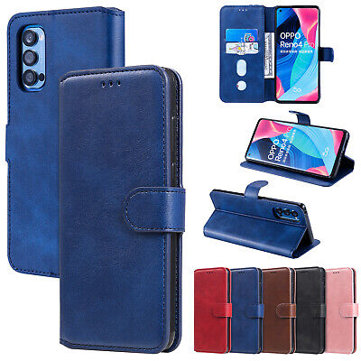 AU8.99 • Buy Newest Pure Colour Premium PU Leather Flip Cover Case Skin For OPPO