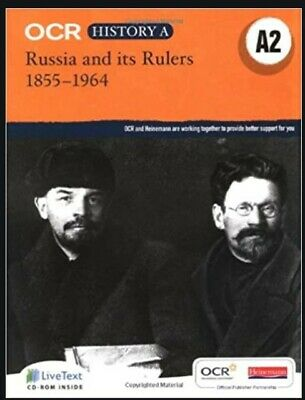 OCR A Historical Themes: Russia And Its Rulers 1855-1964 By Andrew Holland... • 4.60£