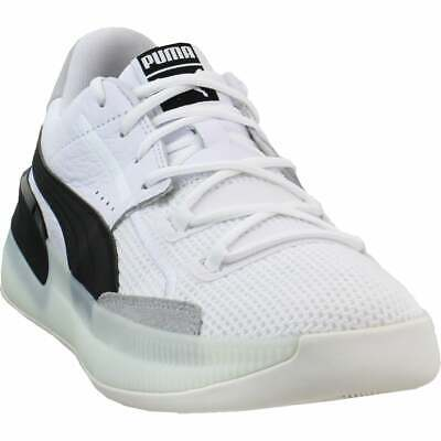 Puma Clyde Hardwood   Mens Basketball Sneakers Shoes Casual   - White • 67.97£