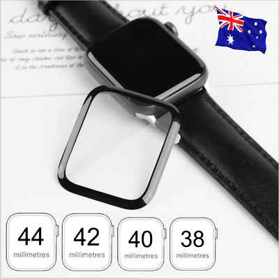 AU3.99 • Buy For Apple Watch Series 5/4/3/2/1 Silicone Screen Protector 38/42/40/44mm