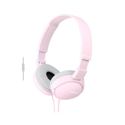 Sony Over Ear Sound Monitoring Headphones With Smartphone Mic & Control - Pink • 18.95£
