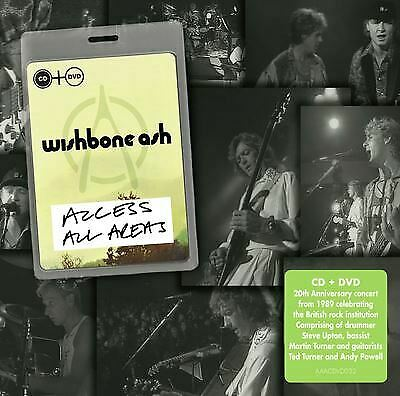 £8.53 • Buy Access All Areas Wishbone Ash CD NEW