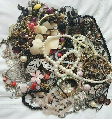 Joblot Of Costume Jewellery To Wear/craft Making Just Over 1.5 G (lot 1) • 12£