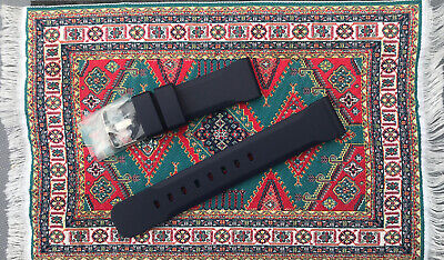Genuine Italian Rubber, Dive Watch Strap, ZULUDIVER, Bonetto Cinturini,22mm • 17£