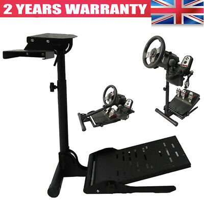 Racing Steering Wheel Stand Simulator For Logitech G29 G920 G25 G27 PS4 T80 XBOX • 49.97£