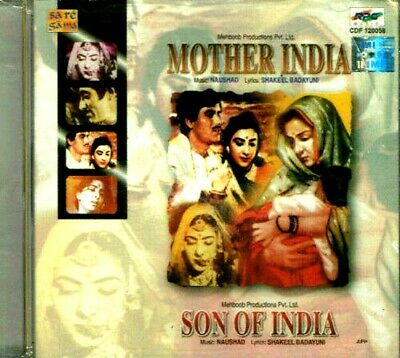 £15 • Buy MOTHER INDIA / SON OF IND - 2 In 1 - New Bollywood 2 Film's Songs SA RE GA MA CD
