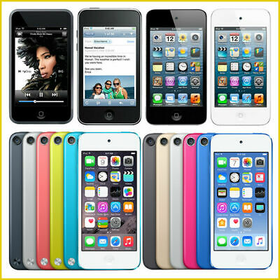 £67.28 • Buy Apple IPod Touch 2nd, 3rd, 4th, 5th, 6th, 7th Generation / From 8GB - 256GB Lot